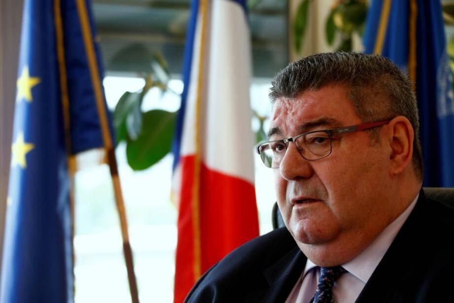 Marc Giraud, président du Conseil départemental.