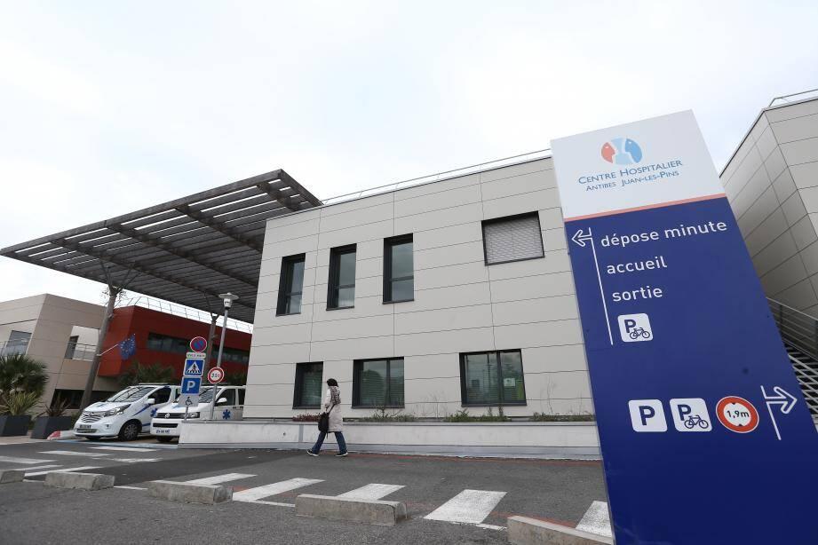 Centre hospitalier de la Fontonne à Antibes.