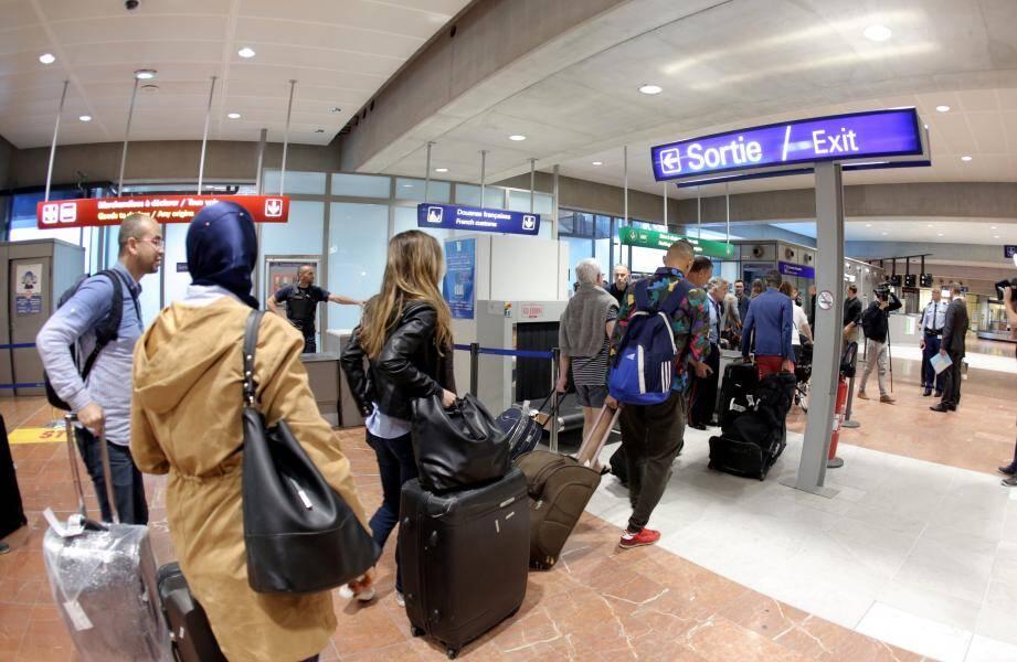 La fréquentation de l'aéroport a décollé ces huit dernières années.
