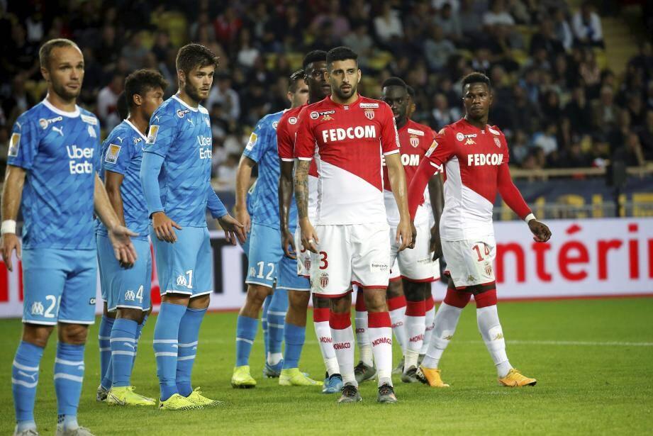 Les Monégasques ont marqué les premiers dans cette rencontre.