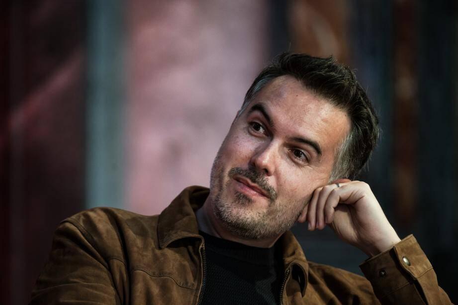 L'écrivain Maxime Chattam est le président de la Fête du livre du Var qui commence ce vendredi.