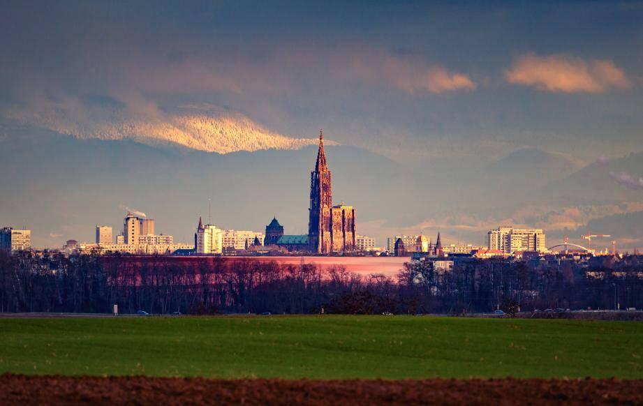 Une vue de Strasbourg.