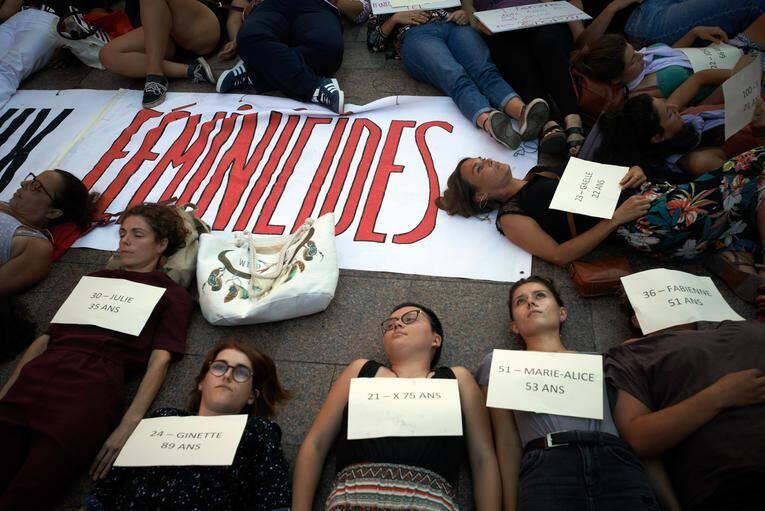 Un rassemblement contre les féminicides début septembre à Toulouse.