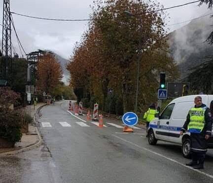 Un arrêté municipal réglemente la circulation par alternat sur le boulevard Jean Jaurès à Breil-sur-Roya