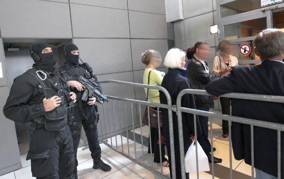 Tony Michelet avait été condamné en 2012 par la cour d'assises des Alpes-Maritimes (ici lors de son procès).