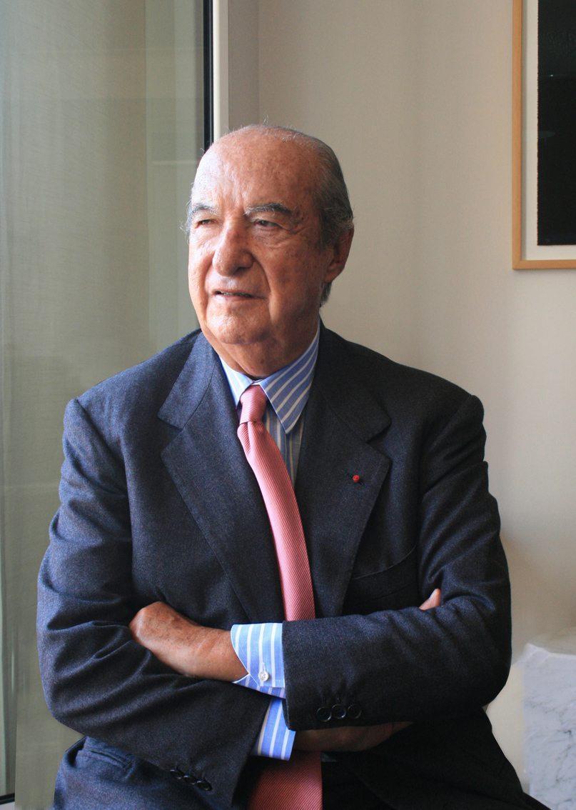 Enrico Braggiotti, dans son bureau