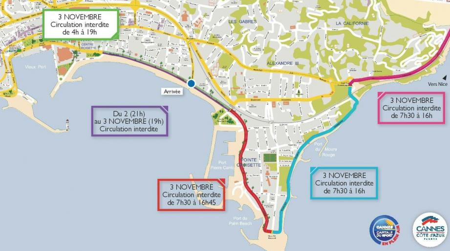 Les remparts d'Antibes seront une nouvelle fois l'un des théâtres de ce 12e marathon Nice-Cannes.