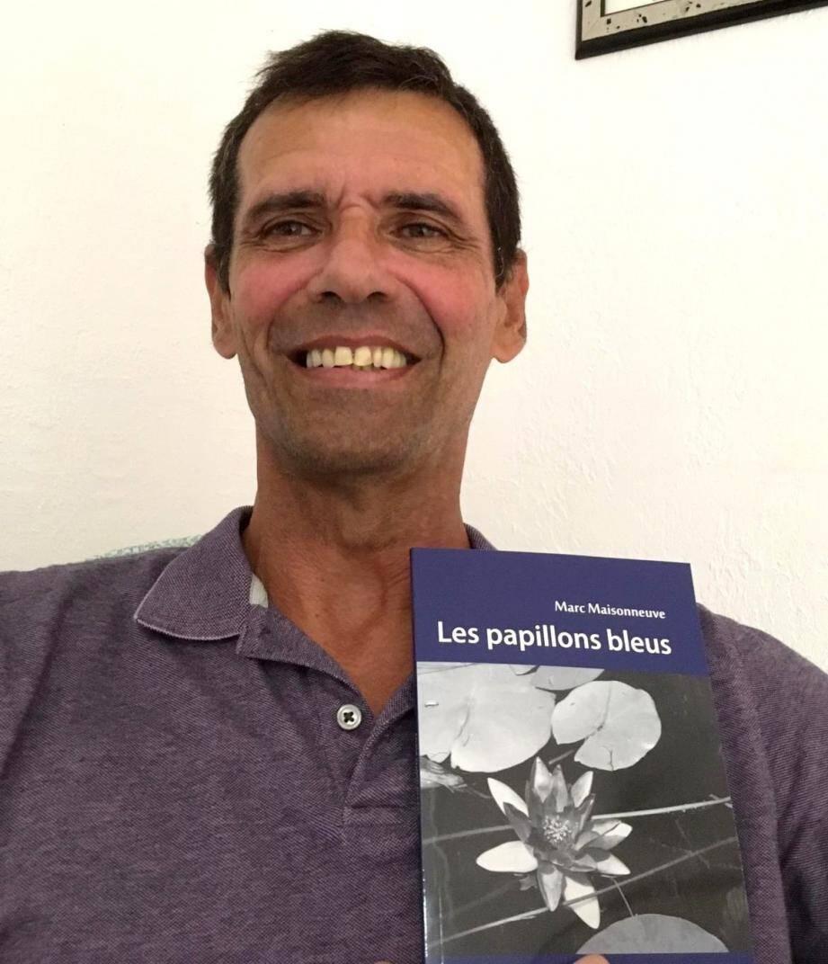 Marc Maisonneuve vient d'écrire son premier livre qui est une véritable thérapie pour tous.