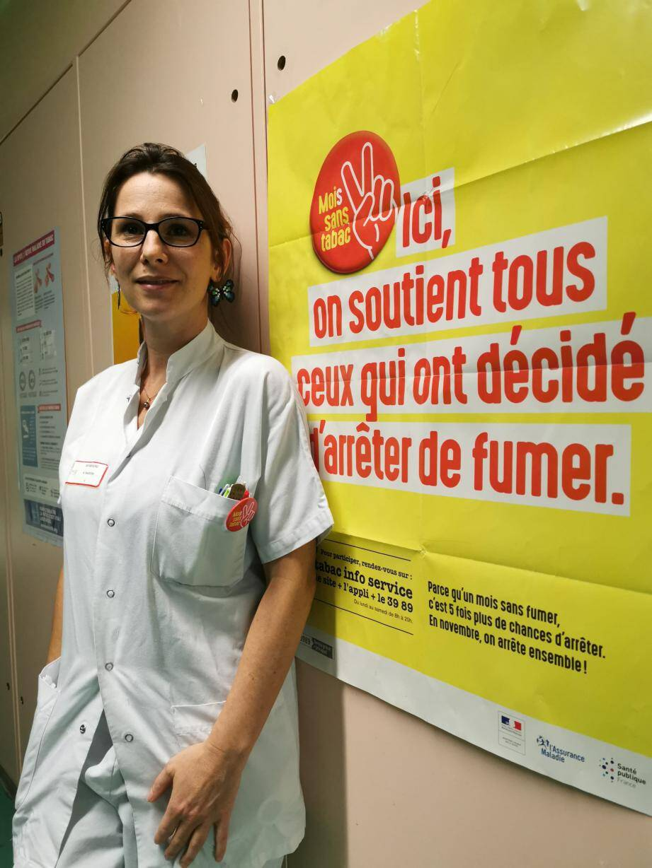C'est le bon jour pour arrêter : Mélanie Passoni propose un stand ludique dans le hall de l'hôpital aujourd'hui de 9 à 15 h. Le 13 novembre, elle sera à la clinique Orsac Mont-Fleuri pour une demi-journée de sensibilisation ouverte au public.