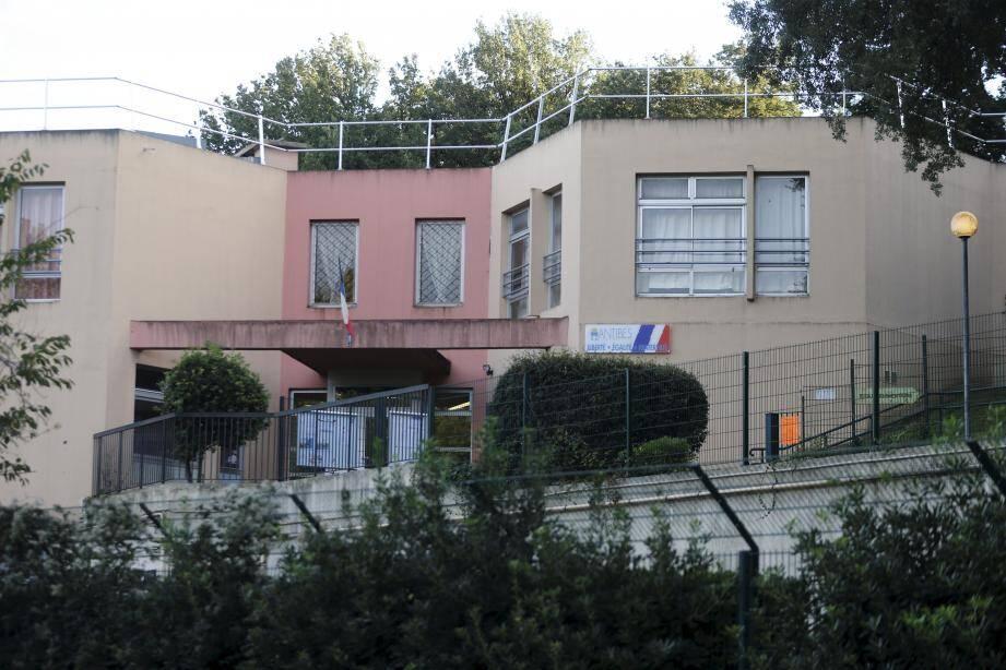 L'école élémentaire Saint-Claude à Antibes.