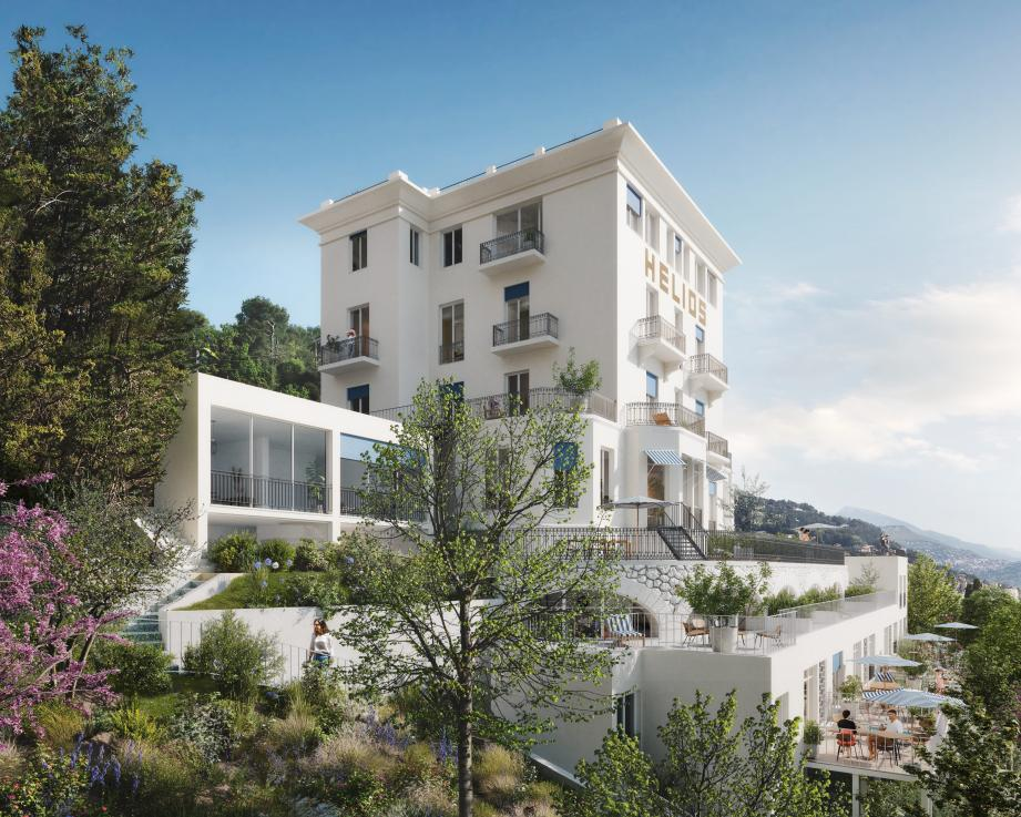 C'est le cabinet d'architecture Atelier Aïno et le promoteur Saint-Roch Habitat qui ont la charge de réhabiliter le bâtiment.