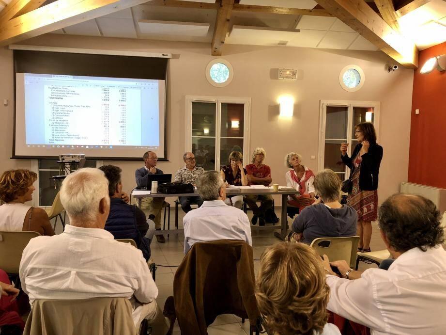 Les membres de l'association se sont réunis avec une seule idée en tête : trouver les thèmes des prochaines expositions.
