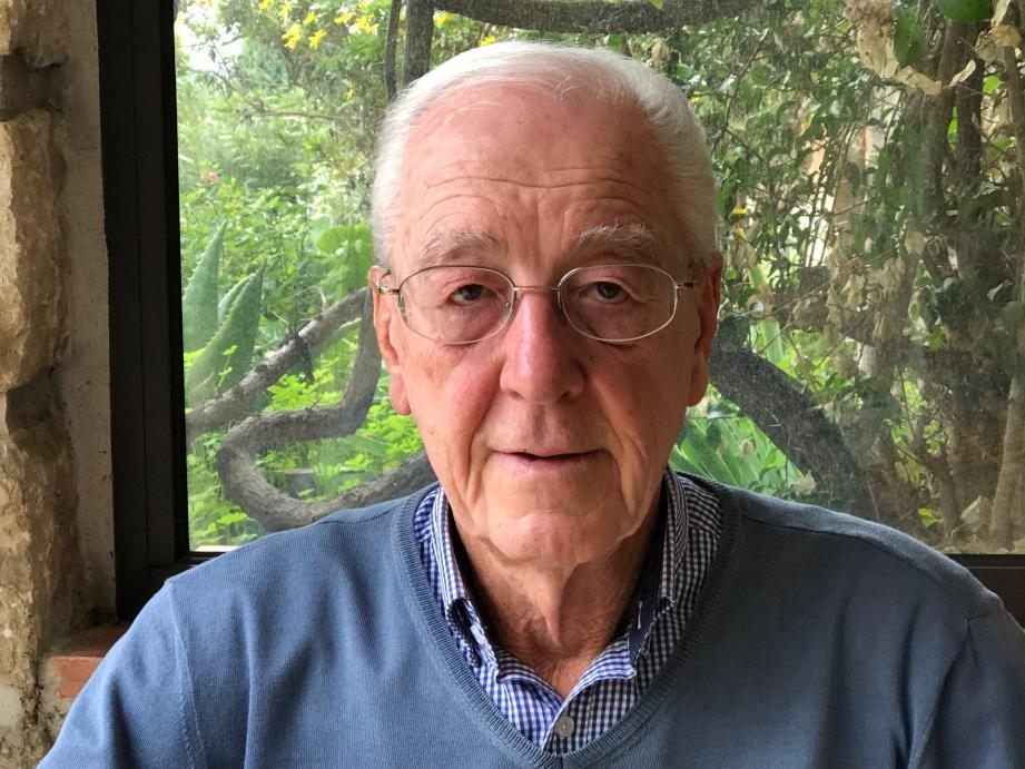 André Payan-Passeron, chercheur-conférencier auteur de Quelques vérités sur la guerre de 1914-18.