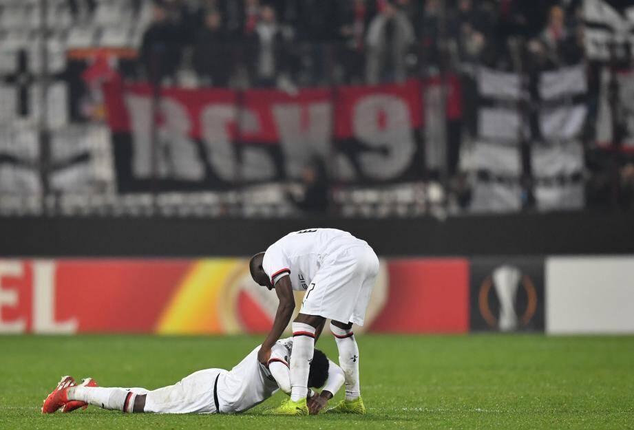 La détresse de Faitout Maouassa et Hamari Traoré était immense. Dominateur et dangereux, Rennes est tombé sur un gardien en état de grâce.