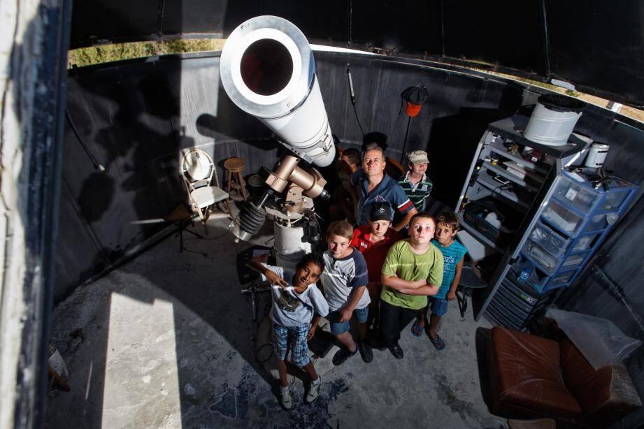 Lundi après-midi, l'observatoire de Rocbaron permettra aux visiteurs de voir la planète Mercure passer devant le soleil ainsi que de découvrir la surface de l'étoile du système solaire.