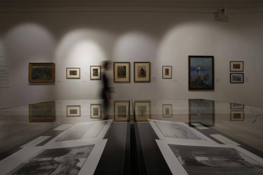 L'exposition, inaugurée hier, présente Menton sous toutes ses facettes.