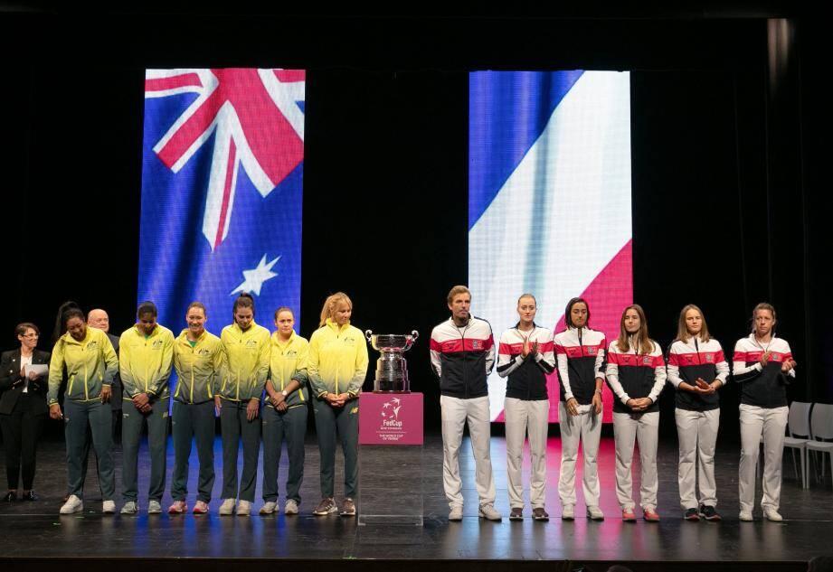 Face aux Australiennes, favorites, les Françaises vont tout donner.