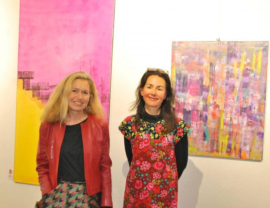 Bertille de Baudinière et Karin Tueta exposent au musée arts et histoire jusqu'au 5 janvier.