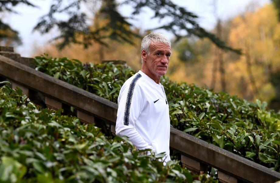 Didier Deschamps vivra jeudi son 99e match sur le banc de l'equipe de France