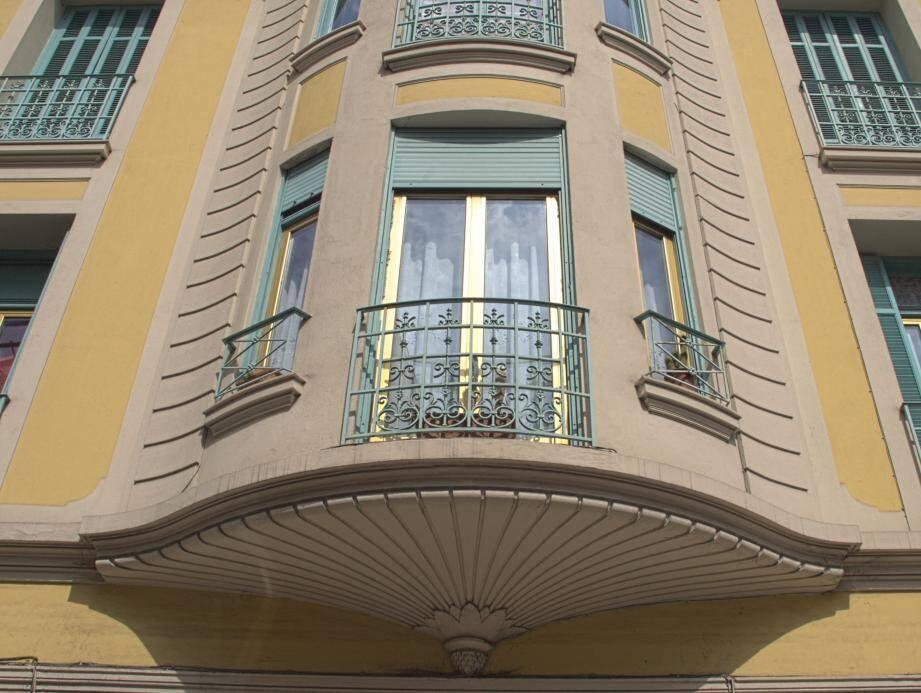 Menton abrite quelques belles réalisations d'architecture Art déco.(DR)
