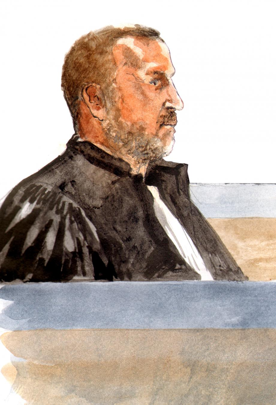 L'avocat général Vincent Blériot.
