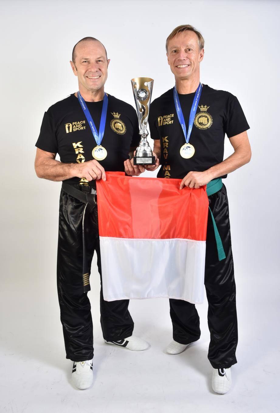 Claude Pouget et Eddie Molina.(DR)