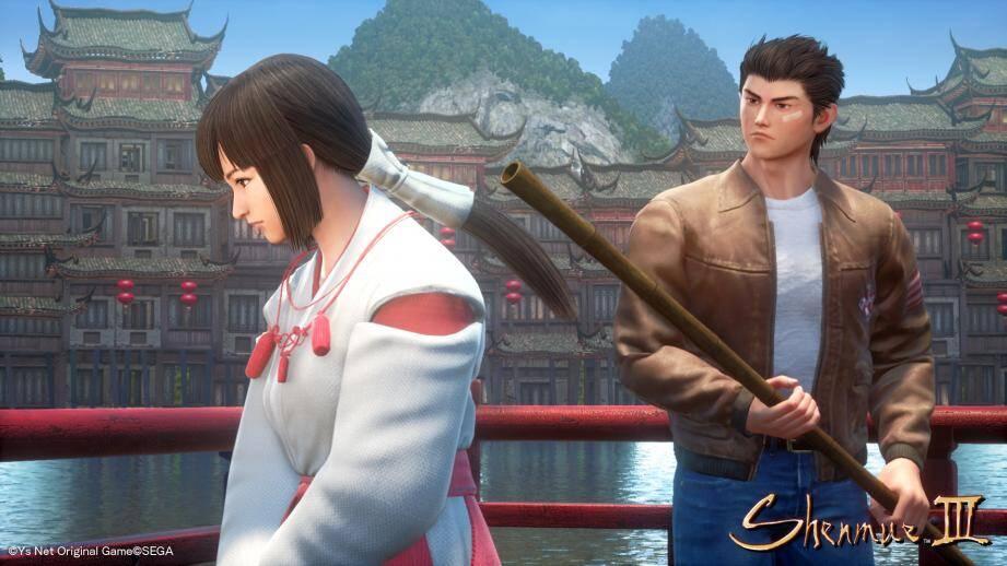 La quête du héros de la saga, Ryo Hazuki, se résume à une pensée : venger la mort de son père.(Ys Net original Game/SEGA)