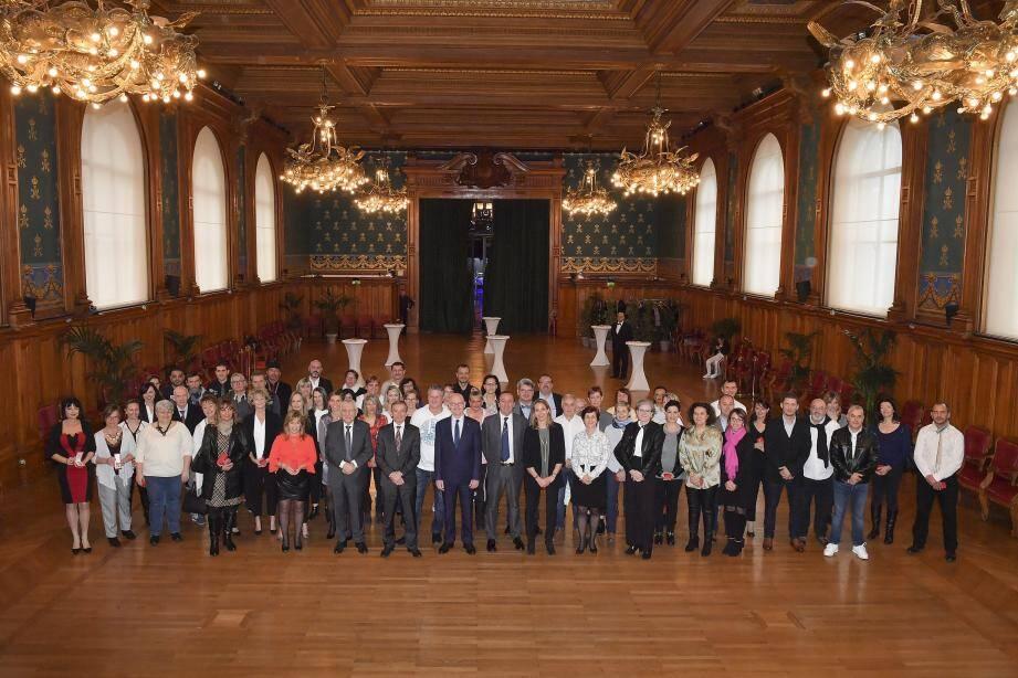 Les médailles d'honneur du CHPG ont été décernées hier.