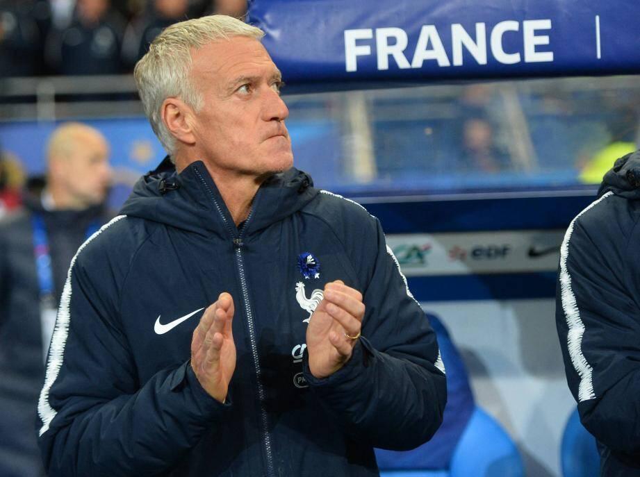 Didier Deschamps est sélectionneur des Bleus depuis 2012.