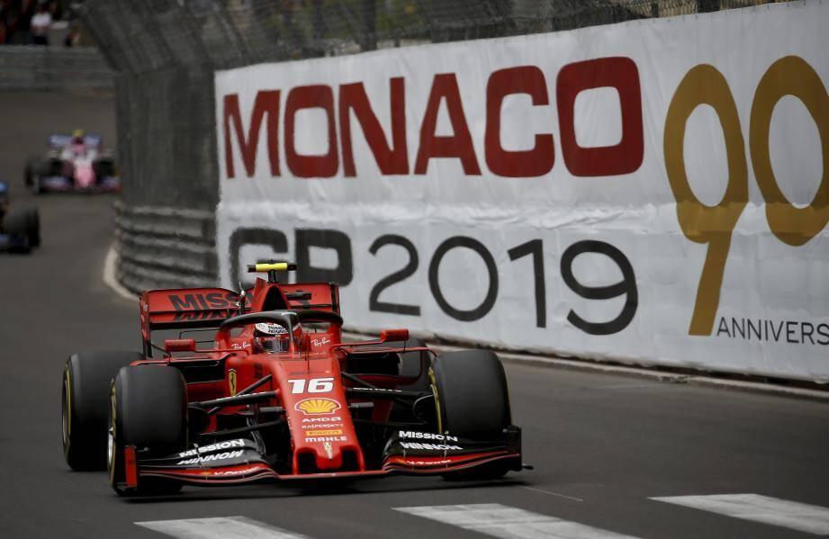 Après un Grand Prix de Monaco difficile, la Ferrari de Charles Leclerc a été performante et régulière  à partir du Grand Prix de France.