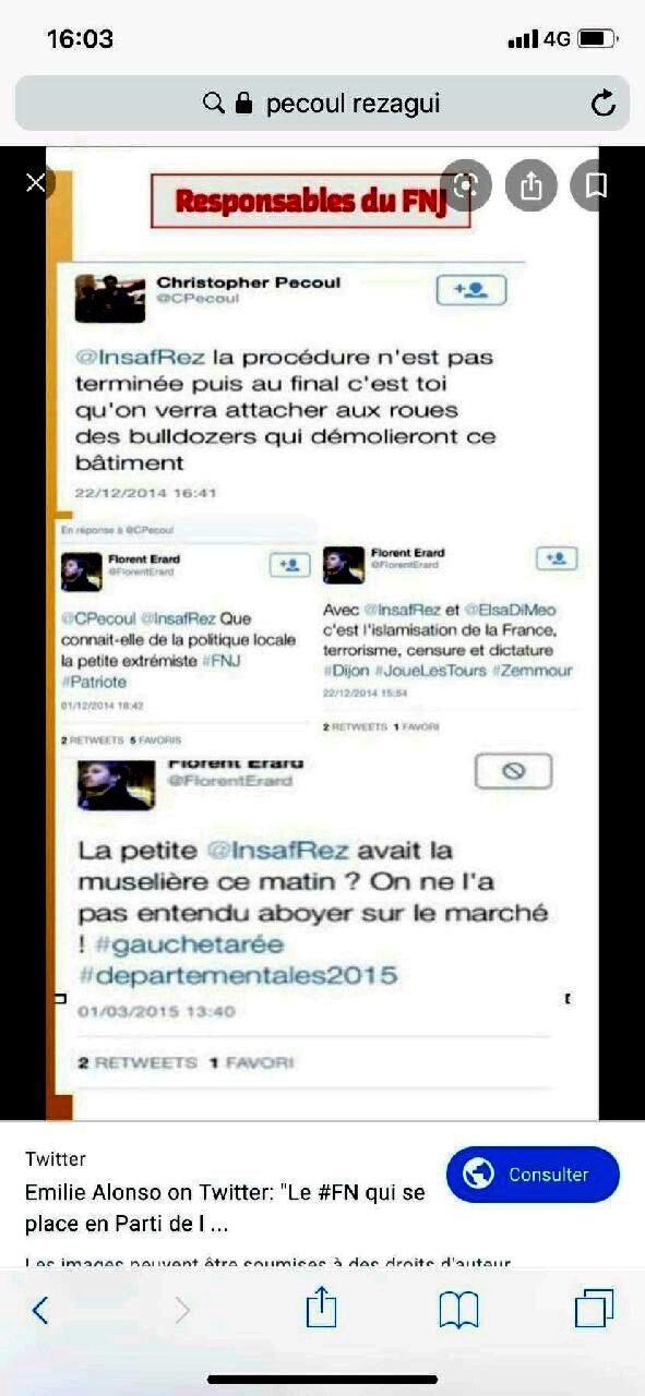 Capture d'écran du tweet posté le 22 décembre 2014, supprimé dès le lendemain.