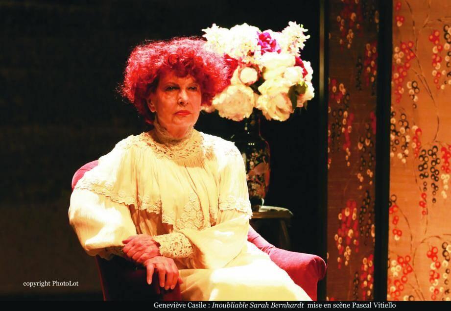Geneviève Casile incarnera l'iconique actrice sur la scène du théâtre Princesse-Grace le 21 novembre.