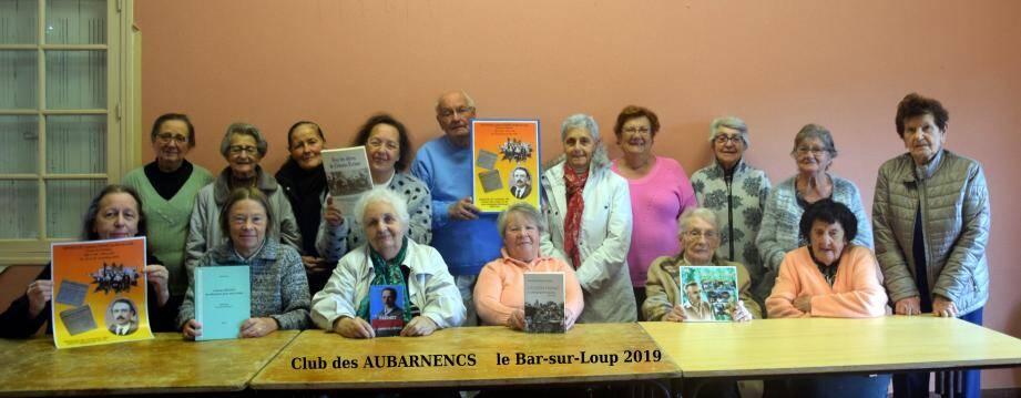 L'association Les Aubarnencs a collecté des documents d'époque.(DR)