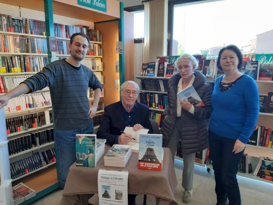 Philippe Lemaire a rencontré ses fidèles lecteurs.