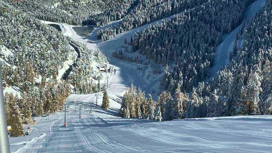 Le forfait de ski sera gratuit pour les enfants cette saison à La Colmiane.