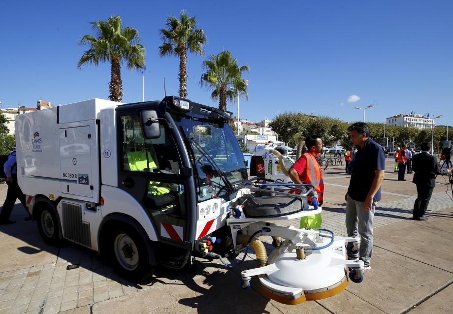 La propreté : l'un des axes forts du mandat de municipalité cannoise.