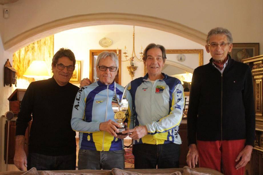 Maurice, Bontoux, Watelet, Ruff.