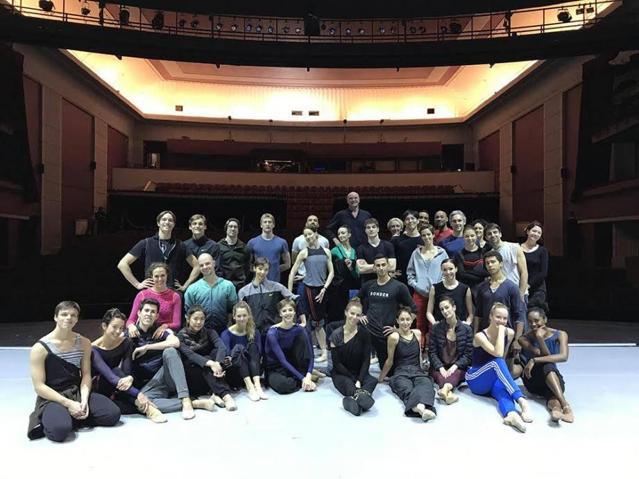 Les danseurs des Ballets de Monte-Carlo ont présenté le programme  « En Compagnie de Nijinsky ».