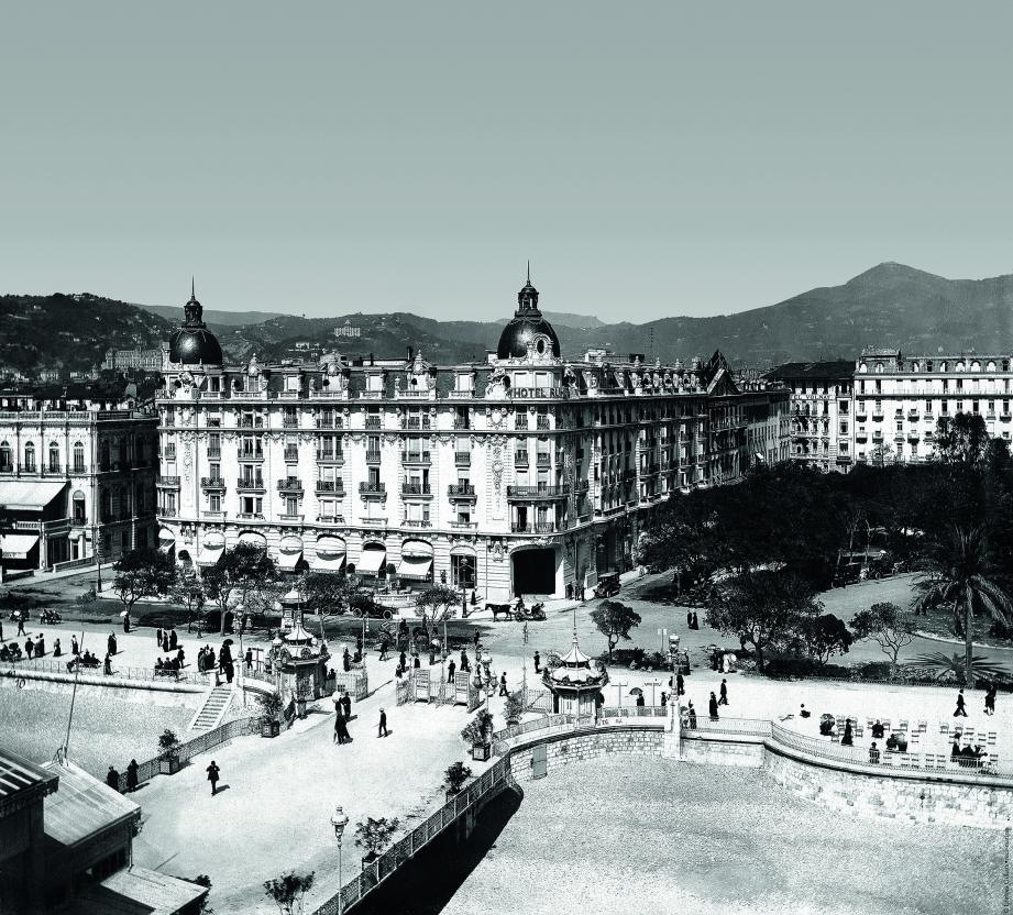 L'hôtel Ruhl, vers 1925.