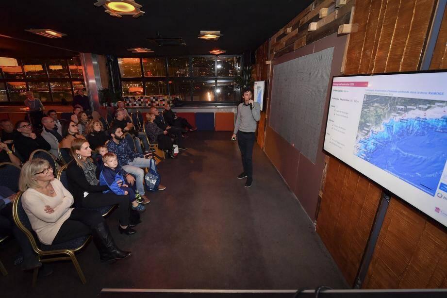 Une conférence a été organisée sur le thème « Monaco : exploration en eaux profondes ».