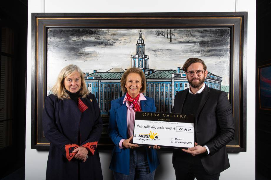 Opera Gallery continue de soutenir l'association.(DR)