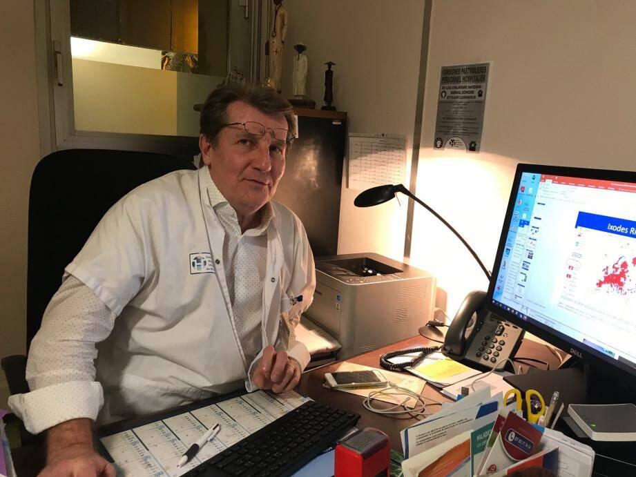 Le docteur Jacques Durant à Nice