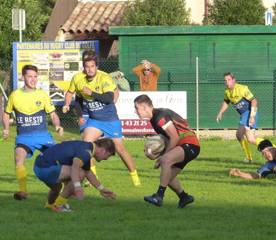 La ville de Grimaud croit dur comme fer en ses chances de devenir camp de base pour la prochaine Coupe du monde de rugby, en 2023. Le projet est mené en étroite collaboration avec le Rugby Club Grimaudois.
