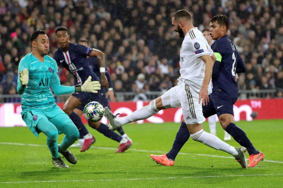Karim Benzema a inscrit un doublé à Keylor Navas qui a malgré tout été grandiose tout au long du match.