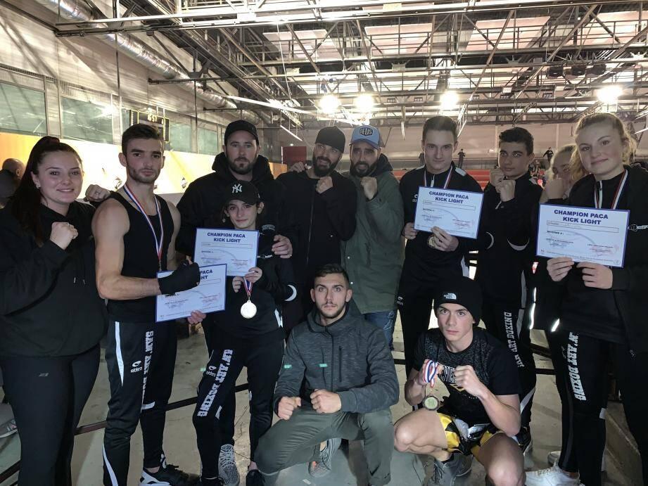 Avec huit titres aux championnats Paca, le San'art Boxing a encore frappé fort.