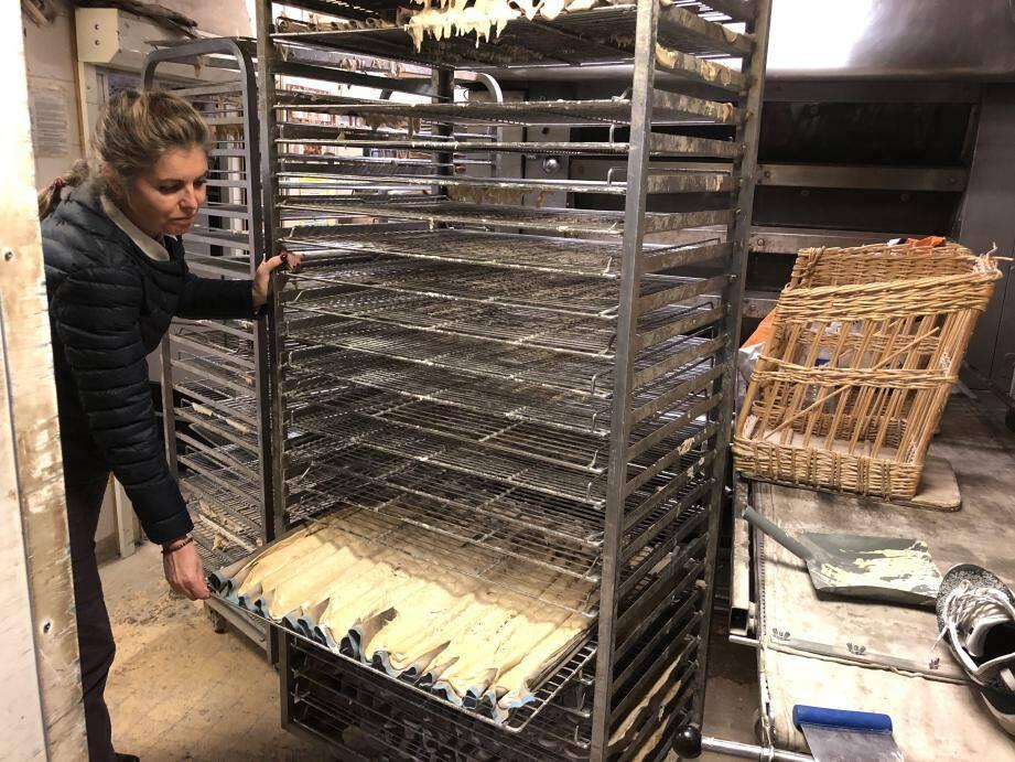 Samedi dernier, l'eau s'est infiltrée dans la boutique. Toute la marchandise de la boulangerie La Gourmandine à Villeneuve-Loubet a été perdue.