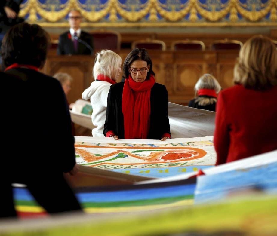 Depuis quinze ans, la princesse Stéphanie a fait de la lutte contre le sida, son combat.