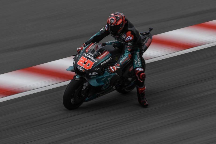 Parti en pole au Grand Prix de Malaisie, Fabio Quartararo a terminé 7e.