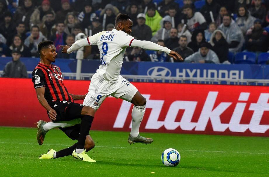 Christophe Herelle s'est blessé face à Lyon samedi.