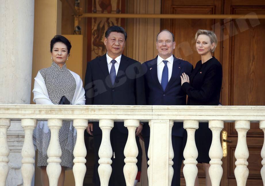 """""""La Chine a la ferme intention d'assumer un leadership en matière de transition énergétique», assure le prince Albert II."""""""
